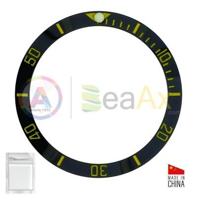 Inserto in ceramica per ghiera Rolex Submariner Nero indici oro 116613.LN RX-315.116613.LN