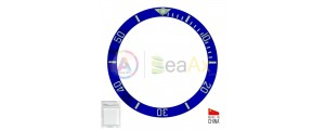 Ceramic bezel insert for Rolex Submariner Blue with silver index 116619.LB