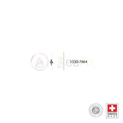 Asse del bilanciere n° 7864 movimento Rolex cal. 1530 1570 ricambio compatibile RX.1530.7864