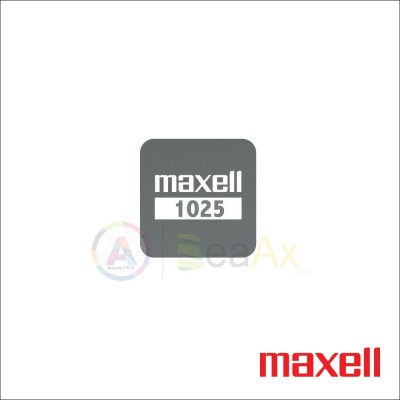 Pila Maxell Litio CR 1025