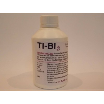 Soluzione TI-BI concentrato 250 ml lavaggio pulizia orologiaio pendole orologi TB30250