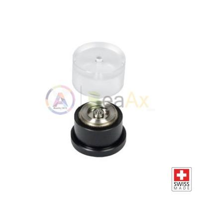 Utensile per chiudere i coperchi dei bariletti degli orologi Swiss Made ø 25 mm