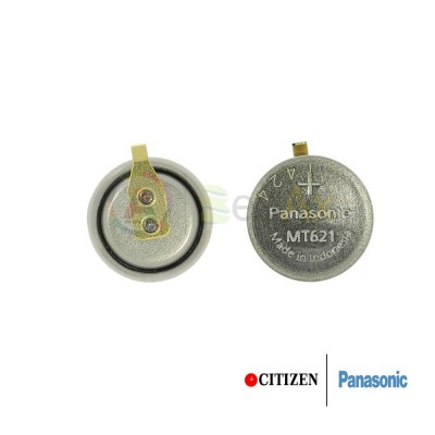 Accumulatore Panasonic per orologio Citizen Eco Drive 295-51 / 295-60 - MT621  CT295.51