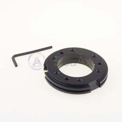 Adjustable metal bracelet locks for embedding