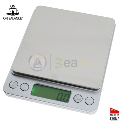 Digital pocket scale On Balance® model NV500 - Capacity. 500 g. Graduation. 0.01 g.