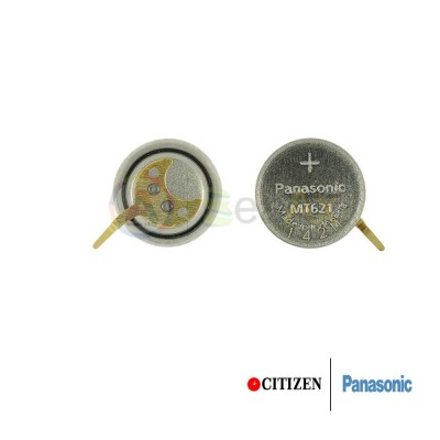 Accumulatore Panasonic per orologio Citizen Eco Drive 295-55 / 295-33 - MT621