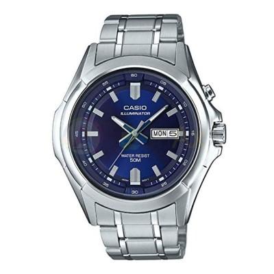 Orologio Casio Collection MTP-E205D-2AV uomo acciaio analogico quarzo blu